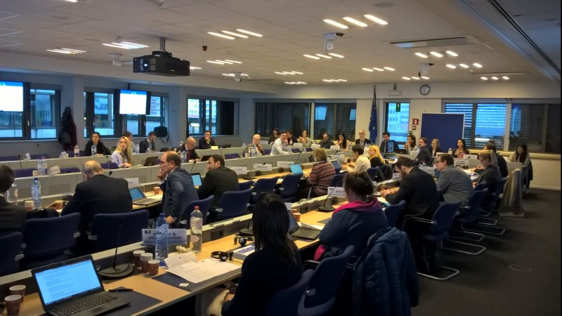 Representatives of the Western Balkans presenting developments in Open Science and Open Access policies in their economies at the 5th meeting of the EU network of National Points of Reference on Scientific Information (NPR) (Photo: RCC)