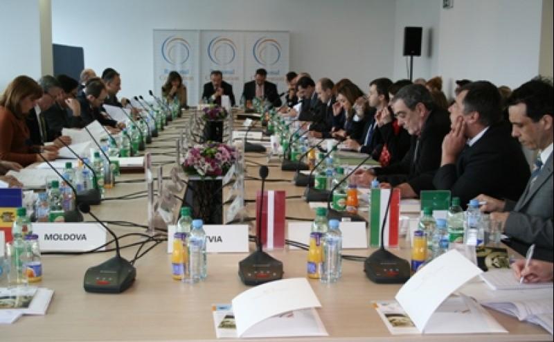 Meeting of the RCC Board, Sarajevo, BiH, 5 March 2009. (Photo RCC/Selma Ahatovic-Lihic)