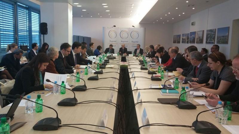 The 28th meeting of the RCC Board, in Sarajevo on 26 February 2016. (photo: RCC/Ratka Babic)