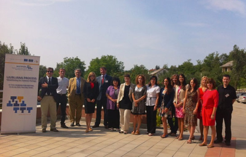 Participants of the Regional Cooperation Council (RCC) Task Force on Culture and Society (TFCS) meeting, in Novi Sad, Serbia, on 15 July 2013. (Photo: RCC TFCS)