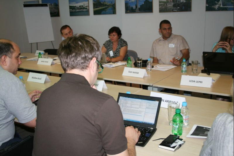 RCC Secretariat hosted a meeting of the electronic-South East Europe (eSEE), in Sarajevo, Bosnia and Herzegovina, on 10-11 July 2012. (Photo RCC/Selma Ahatovic-Lihic)