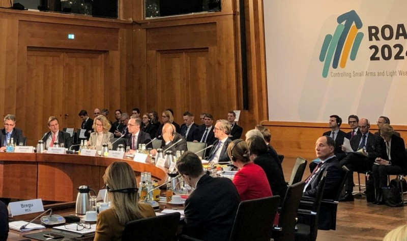 RCC Secretary General Majlinda Bregu took part of the high-level meeting of the Franco-German Coordination Initiative on Small Arms and Light Weapons Control in the Western Balkans, taking, in Berlin on 31 January 2020 (Photo: Twitter)
