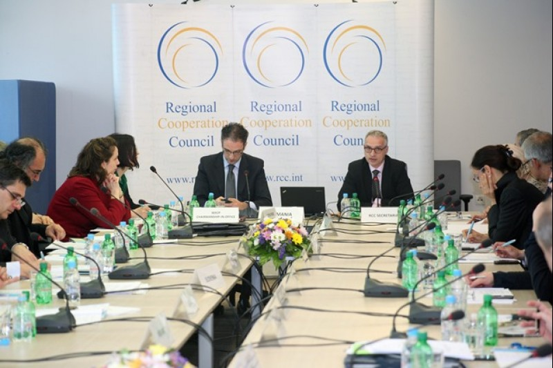 23rd RCC Board meeting held at the RCC Secretariat, Sarajevo, Bosnia and Herzegovina on 24 April 2014