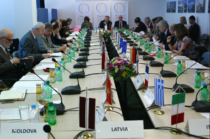 Meeting of the RCC Board held in Sarajevo, BiH, on 12 May 2011. (Photo RCC/Selma Ahatovic-Lihic)
