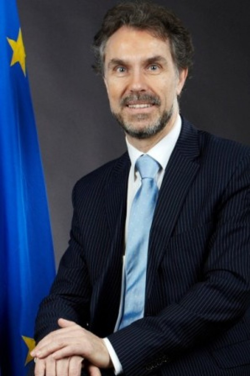 Wouter Van de Rijt, Principal Administrator, General Secretariat of the Council of the European Union. (Photo courtesy of Mr. Van de Rijt)