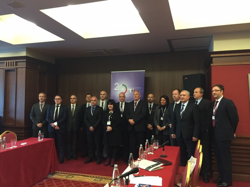 SEECP Political Directors meet on 23 November 2015 in Sofia, Bulgaria. (Photo: Courtesy of Bulgarian MFA)