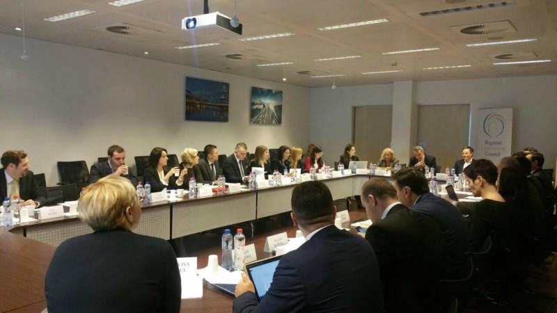 Regional  Working Group on Justice and Western Balkans' Judicial Training Institutions held a joint meeting in Brussels, 6-7 December 2017 (Photo: RCC/Nadja Greku)