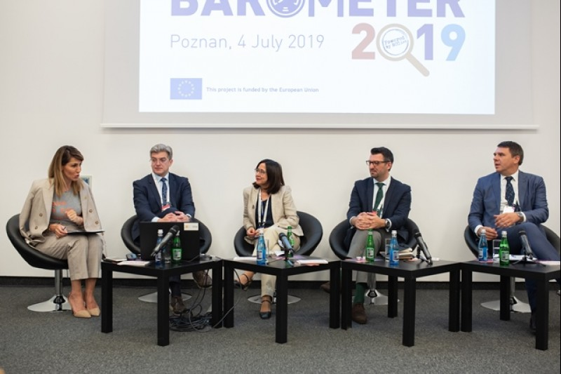 Regional Cooperation Council presents Balkan Barometer 2019 findings at Western Balkans Summit in Poznan, 4 July 2019 (Photo: RCC/Erik Witsoe)