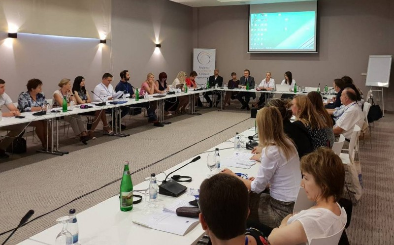 Regional peer-review workshop on youth employment, organised by the RCC's Employment and Social Affairs Platform (ESAP) in Herceg Novi, 30-31 May 2018 (Photo: RCC/Sanda Topic)