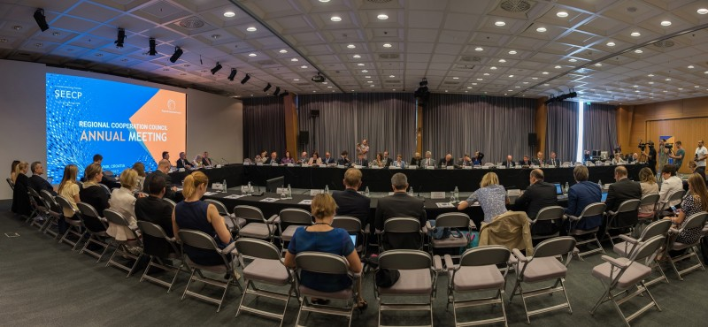 Tenth RCC Annual Meeting held in Dubrovnik, Croatia on 29 June 2017 (Photo: RCC/Srdjan Kurajica & Klaudio Pozniak)