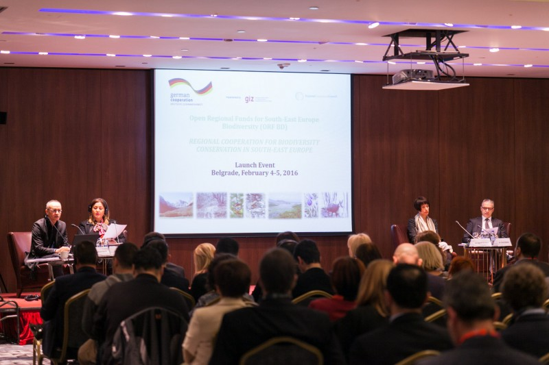 "Launching of a three year project ""Open Regional Funds for South-East Europe – Biodiversity"", on 4 February 2016 in Belgrade, Serbia. (Photo: Ivan Zupanc/ORF BD)"
