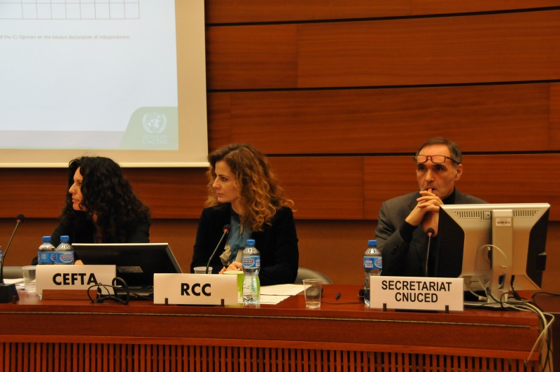 Reforming and harmonizing investment policies in South East Europe in focus of discussion on UNCTAD's Investment Policy Review of South East Europe on a meeting held in Geneva, Switzerland, on 17-18 November 2016 (Photo: Jovan Licina)