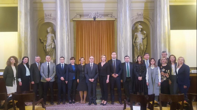 The second meeting of the Coordinators for the RCC's Multi Action Plan for a Regional Economic Area in the Western Balkans six took place in Trieste on 30 January 2018. (Photo: RCC)