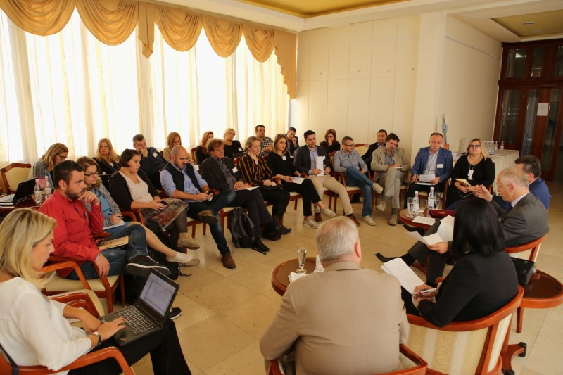 The Regional Cooperation Council (RCC) hosted a Regional Workshop on media coverage of violent extremism-related topics for journalists from the Western Balkans, in Budva, Montenegro on 25 October 2018 (Photo: RCC/Radonja Srdanovic)