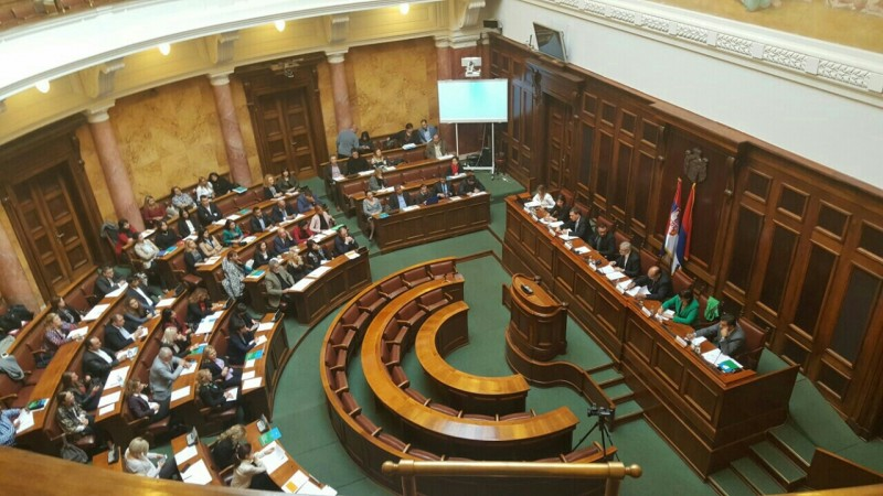 Public dialogue forum on Roma Integration kicks off with public hearing at Serbian National Assembly, on 13 October 2016, in belgrade. (Photo: RCC/Aleksandra Bojadjieva)