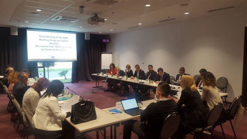 3rd Meeting of the Western Balkans Six Working Group on Financial Markets in Podgorica, 11 December 2018 (Photo: RCC/Nedima Hadziibrisevic)