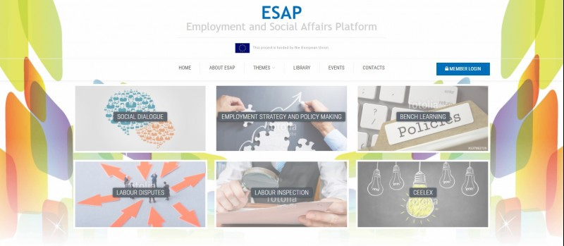 Employment and Social Affairs Platform (ESAP), http://www.esap.online/ (Photo: RCC)