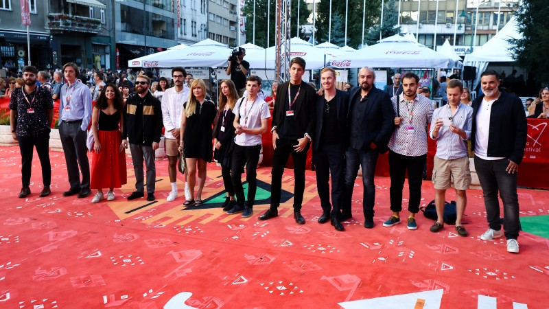 Competitors for the Sarajevo Film Festival (SFF) Heart of Sarajevo for the Best Student Film, an award powered by the RCC (Photo: RCC/Armin Durgut)