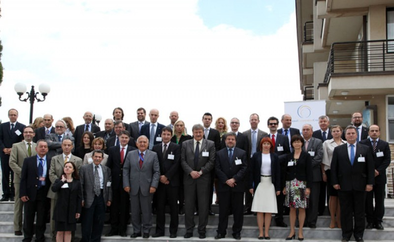 Participants of the fifth RCC Annual Meeting held on 30 May 2013 in Ohrid. (Photo RCC/Ljupcho Blagoevski)