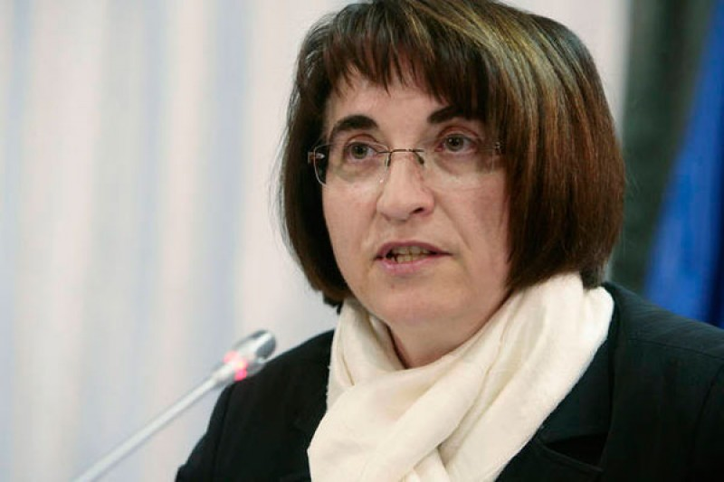Ljubica Jelušič, Minister of Defence of Slovenia (Photo: www.delo.si)