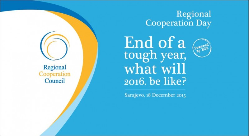 RCC hosts Regional Cooperation Day in Sarajevo on 18 December 2015. (Photo: RCC)