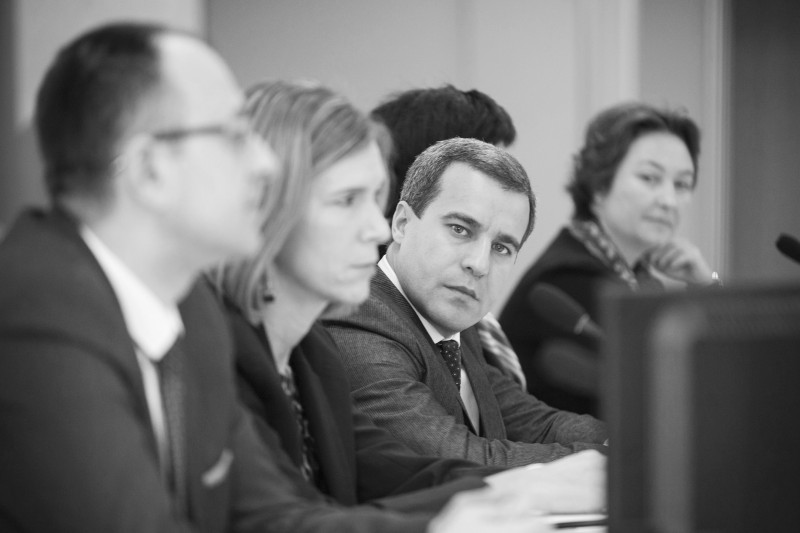 Participants of the Regional Conference Better Regulation and Competitiveness  in Western Balkans, organized by RCC, ReSPA and USAID, held in Belgrade, 1-2 December 2016  (Photo: ReSPA/Ivan Zupanc)