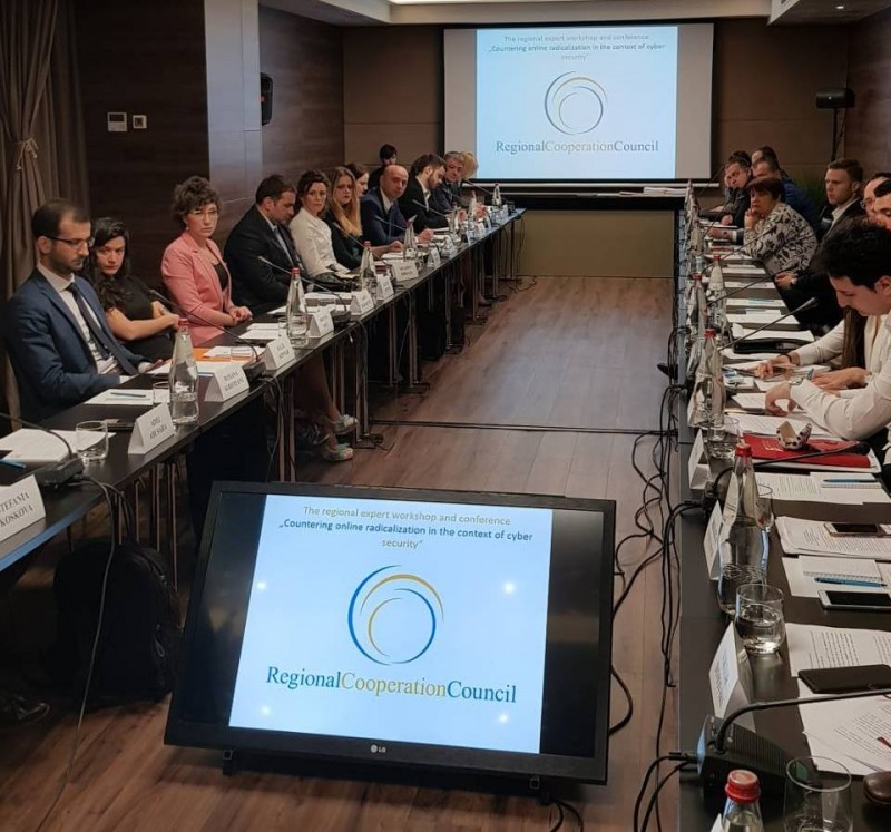 RCC-organised Regional Expert Conference and Workshop on Countering Online Radicalisation, Belgrade, 17-18 April 2018 (Photo: RCC/Natasa Mitrovic)