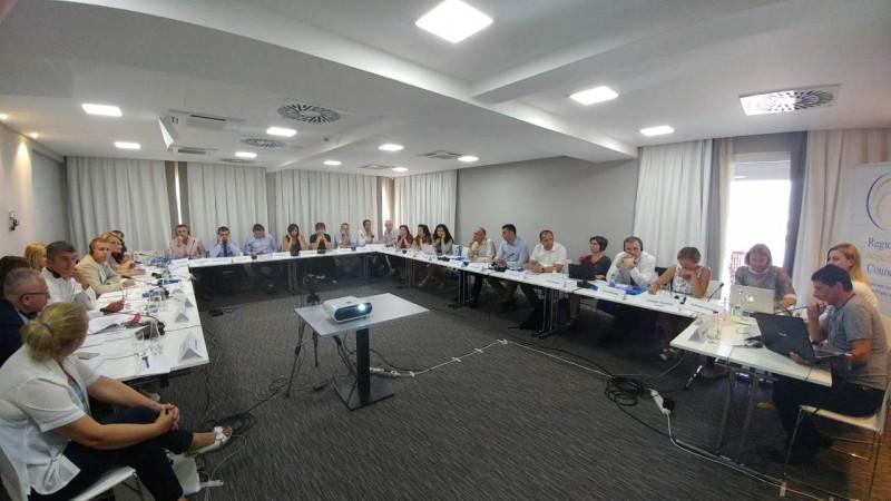 Meeting of representatives of Western Balkan Public Employment Services on qualitative benchmarking, Tivat, Montenegro, 18 July 2017 (Photo: RCC/ESAP/Sanda Topic)
