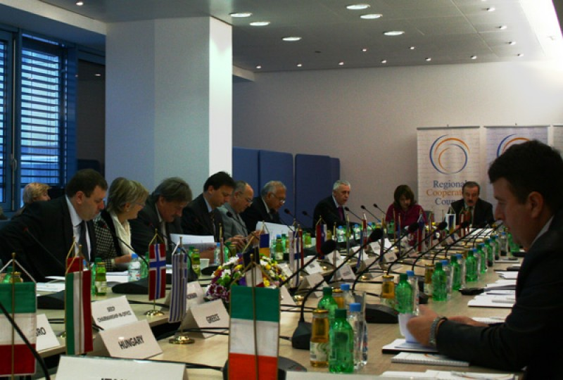 Meeting of the RCC Board held on 2 December 2010, in Sarajevo, Bosnia and Herzegovina. (Photo RCC/Selma Ahatovic-Lihic)