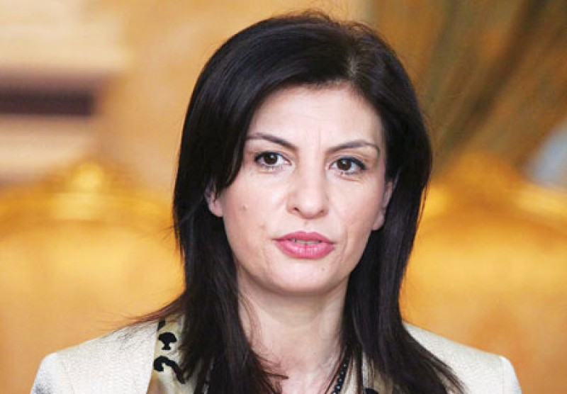 Josefina Topalli, Speaker of Parliament of Albania (Photo: http://www.gazetavogel.al)