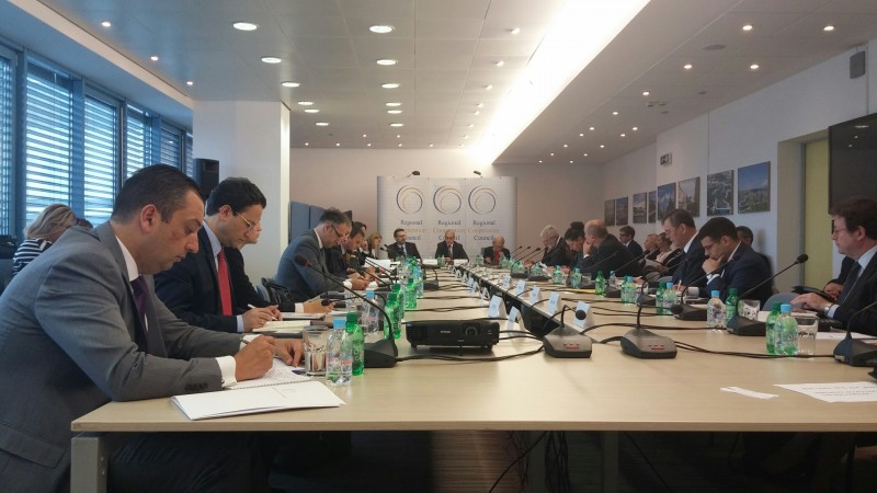 The meeting of the RCC Board held in Sarajevo on 12 October 2016. (Photo: RCC/Ratka Babic)