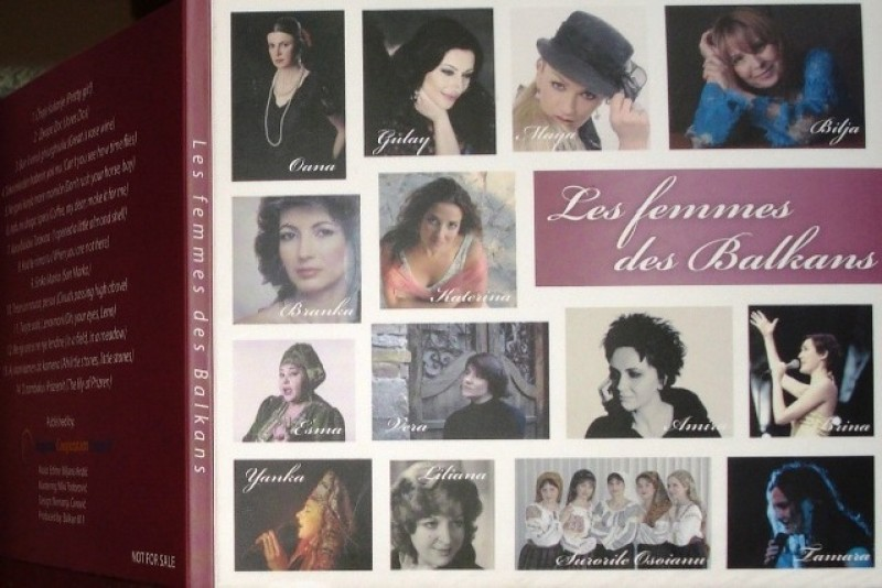 RCC Secretariat published music CD Les Femmes Des Balkans featuring 14 artists from the region (Photo: RCC)