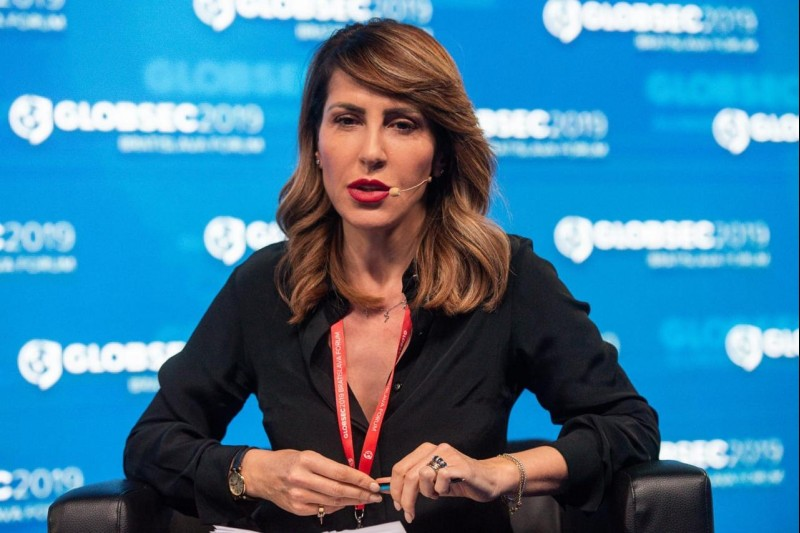 RCC Secretary General at the Globsec Forum 2019 speaking at the panel 'Western Balkans: drifting away from Europe? (Photo: Tomáš Halasz)