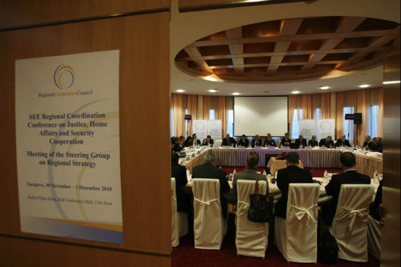 3rd Regional Coordination Conference on Justice, Home Affairs and Security Cooperation took place in Sarajevo, BiH, 30 November-1 December 2010. (Photo RCC/Dado Ruvic)