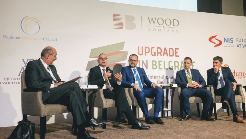 RCC hosted Future of Regional Capital Markets panel at 17 Belgrade Stock Exchange Conference, held on 15 November in Belgrade (Photo: RCC/Dragana Djurica)