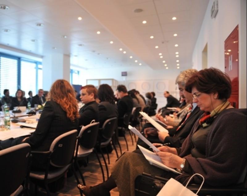 Bosnia and Herzegovina officials at the presentation of RCC Secretariat's mission, priorities and activities, Sarajevo, BiH, 20 January 2009. (Photo RCC/Amer Kapetanovic)