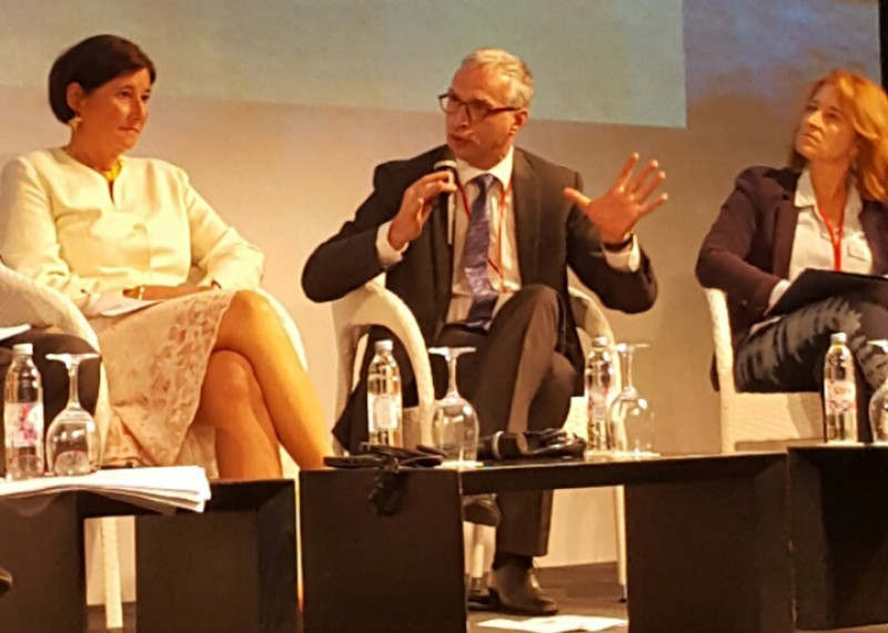 RCC Secretary General, Goran Svilanovic (centre) takes part in the First Forum of EU Strategy for Adriatic and Ionian Region, in Dubrovnik, Croatia on 12-13 May 2016. (photo: RCC/Gordana Demser)