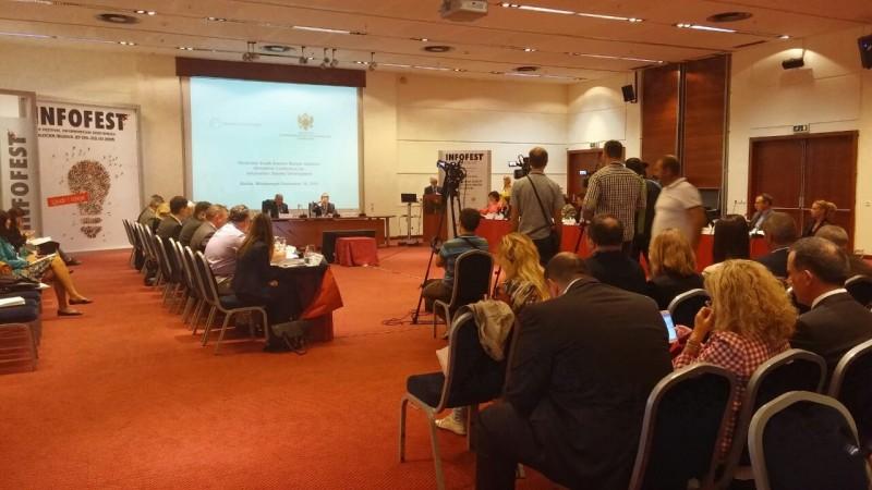 Ministerial Conference on Information Society Development, Budva, Montenegro, 30 September 2015 (Photo: RCC/Nadja Greku)