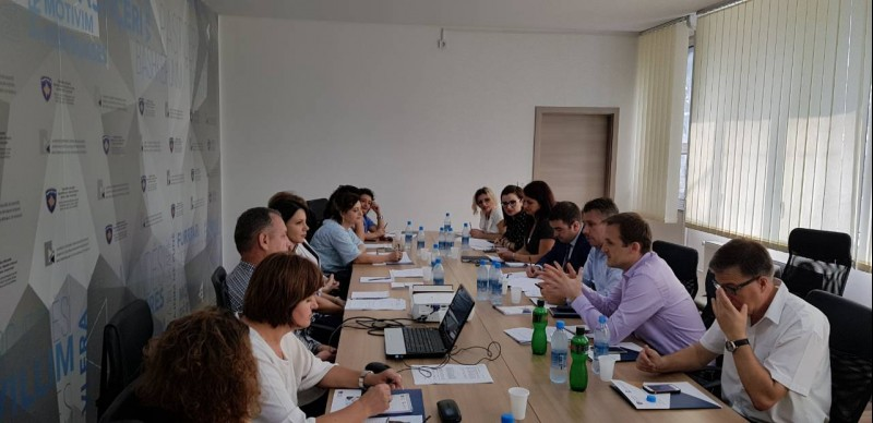 Study visit organised by RCC's ESAP: Albanian Public Employment Service visiting their colleagues in Prishtina (Photo: courtesy of Employment Agency in Prishtina)