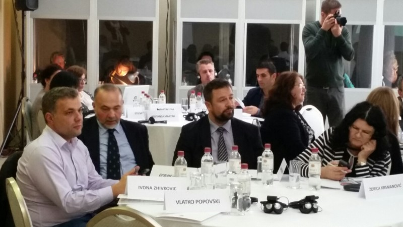 Representatives of public employment services from Western Balkans meet for the first time under the RCC's Employment and Social Affairs Platform project, in Belgrade, on 27 October 2017. (Photo: RCC/Sanda Topic)
