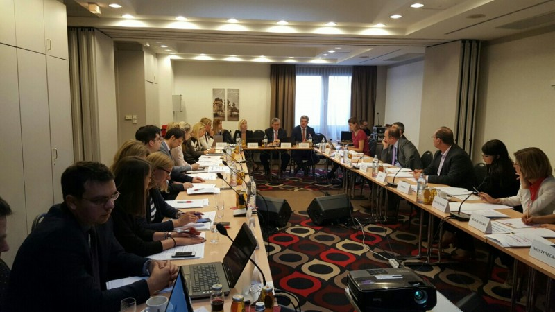 Fourth Meeting of the SEE 2020 Programming Committee, in Vienna on 29 September 2016. (Photo: RCC/Nedima Hadziibrisevic)