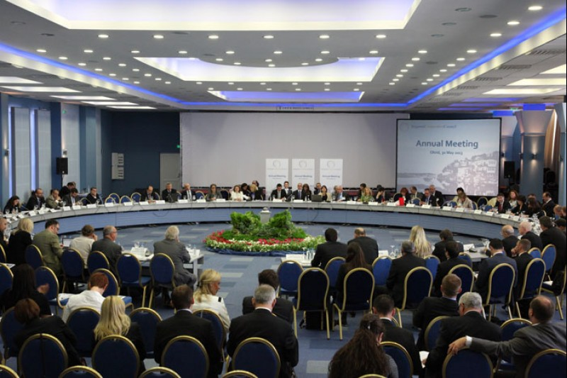 The fifth RCC Annual Meeting was held on 30 May 2013 in Ohrid. (Photo RCC/Ljupcho Blagoevski)