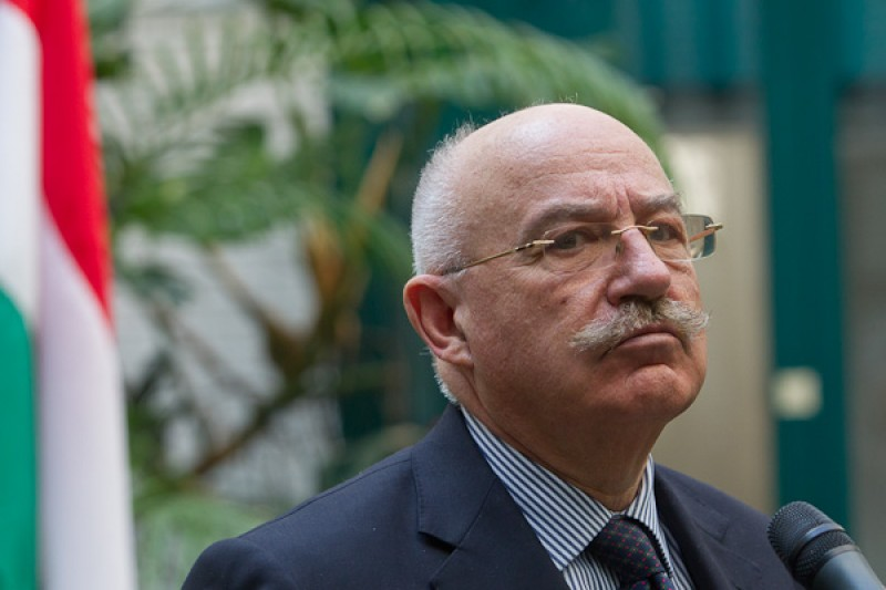 Caption: Janos Martonyi, Minister of Foreign Affairs, Hungary (Photo: http://www.eu2011.hu)