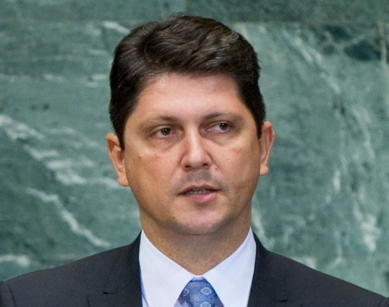 Titus Corlăţean, Foreign Affairs Minister, Romania (Photo: courtesy of Mr Corlăţean)