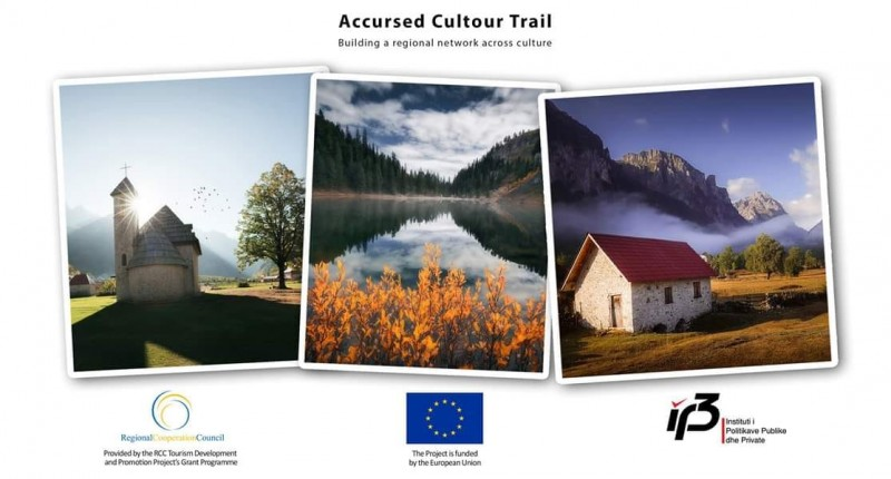 Newly developed Accursed Cultour provides cultural componet  to Via Dinarica trail running through the Accursed Mountians. (Photo: Institute for Public and Private Policies)
