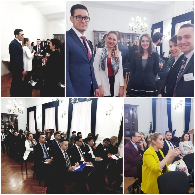 Training for the region's young diplomats in the service, promoting the South East Europe, organized by the Regional Cooperation Council (RCC), in cooperation with the Ministry of Foreign Affairs of Bosnia and Herzegovina, in Sarajevo on 28 February 2019 (Photo: RCC/ratka Babic)
