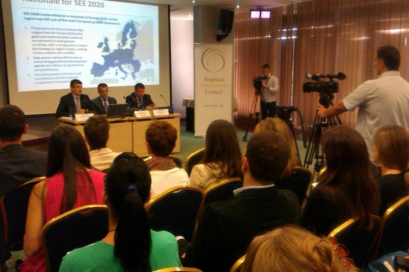 SEE 2020 strategy outreach workshop in Podgorica on 13 September 2013. (Photo RCC∕Selma Ahatovic-Lihic)