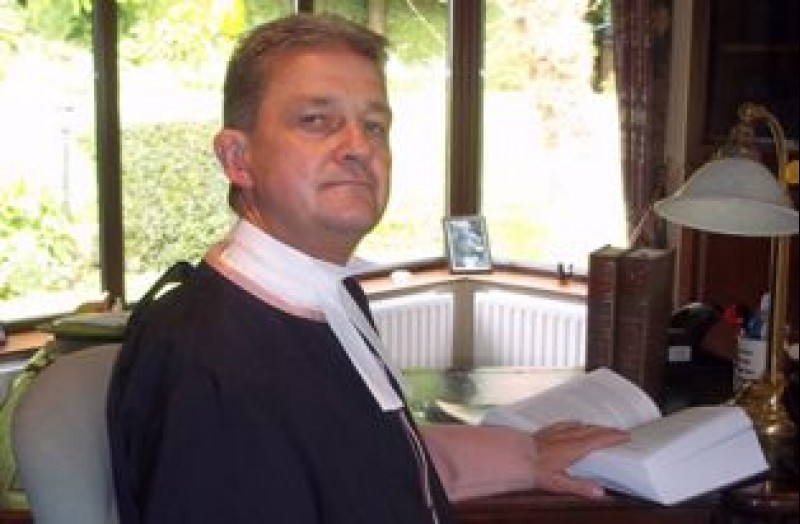Bernard McCloskey, Judge at the Court of Judicature, the Chairman of Law Commission, Northern Ireland, United Kingdom. (Photo: courtesy of Mr. McCloskey)