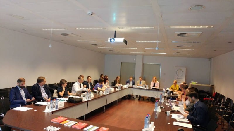 RCC's Working Group on Open Science meets on 6 July 2017 in Brussels. (Photo: RCC/Elvira Ademovic)
