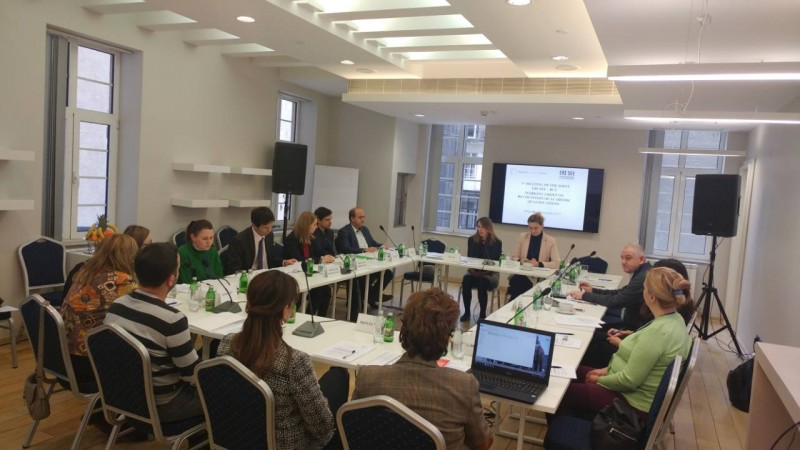 1st formal meeting of the Joint ERI SEE – RCC Working Group on Recognition of Academic Qualifications (WG RAQ) held in Belgrade, 15 December 2017. (Photo: RCC/Elvira Ademovic)
